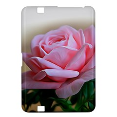 Rose Pink Flowers Pink Saturday Kindle Fire Hd 8 9