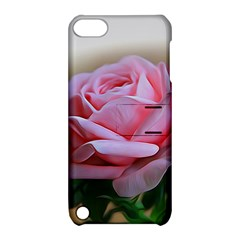 Rose Pink Flowers Pink Saturday Apple Ipod Touch 5 Hardshell Case With Stand