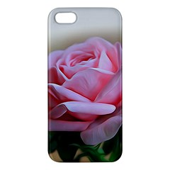 Rose Pink Flowers Pink Saturday Apple Iphone 5 Premium Hardshell Case