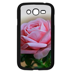 Rose Pink Flowers Pink Saturday Samsung Galaxy Grand Duos I9082 Case (black)
