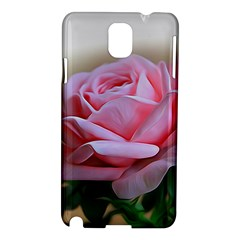 Rose Pink Flowers Pink Saturday Samsung Galaxy Note 3 N9005 Hardshell Case