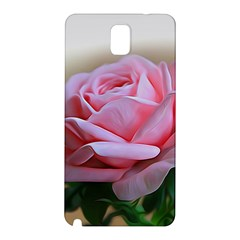 Rose Pink Flowers Pink Saturday Samsung Galaxy Note 3 N9005 Hardshell Back Case