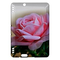 Rose Pink Flowers Pink Saturday Kindle Fire Hdx Hardshell Case