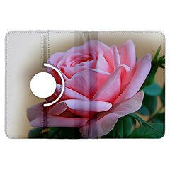 Rose Pink Flowers Pink Saturday Kindle Fire Hdx Flip 360 Case
