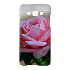 Rose Pink Flowers Pink Saturday Samsung Galaxy A5 Hardshell Case