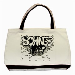 Snow Removal Winter Word Basic Tote Bag