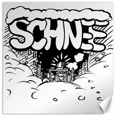 Snow Removal Winter Word Canvas 20  X 20