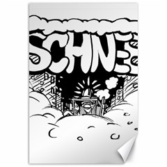 Snow Removal Winter Word Canvas 20  X 30