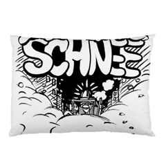 Snow Removal Winter Word Pillow Case