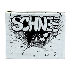 Snow Removal Winter Word Cosmetic Bag (xl)