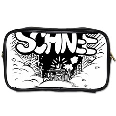 Snow Removal Winter Word Toiletries Bags 2 Side