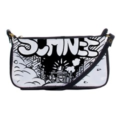 Snow Removal Winter Word Shoulder Clutch Bags