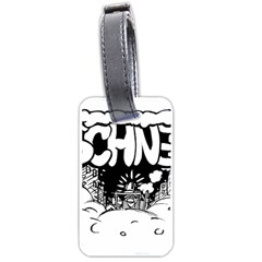 Snow Removal Winter Word Luggage Tags (one Side)