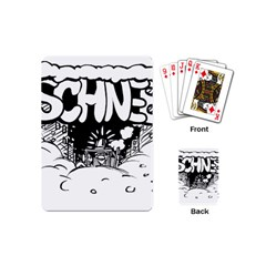 Snow Removal Winter Word Playing Cards (mini)