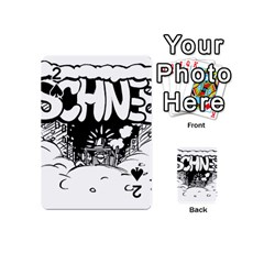 Snow Removal Winter Word Playing Cards 54 (Mini)