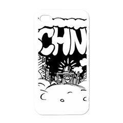 Snow Removal Winter Word Apple Iphone 4 Case (white)