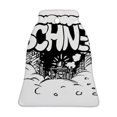 Snow Removal Winter Word Bell Ornament (2 Sides)
