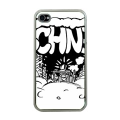 Snow Removal Winter Word Apple Iphone 4 Case (clear)