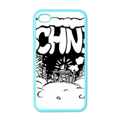 Snow Removal Winter Word Apple Iphone 4 Case (color)