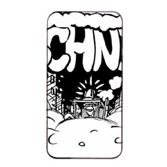 Snow Removal Winter Word Apple Iphone 4/4s Seamless Case (black)