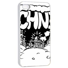Snow Removal Winter Word Apple iPhone 4/4s Seamless Case (White)