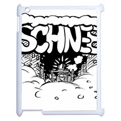 Snow Removal Winter Word Apple Ipad 2 Case (white)