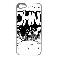 Snow Removal Winter Word Apple Iphone 5 Case (silver)
