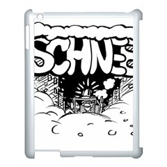 Snow Removal Winter Word Apple Ipad 3/4 Case (white)