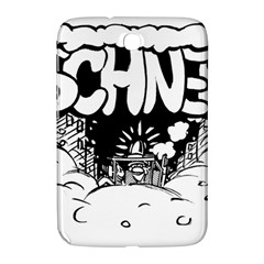 Snow Removal Winter Word Samsung Galaxy Note 8 0 N5100 Hardshell Case