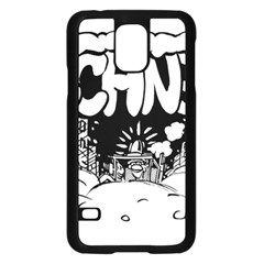 Snow Removal Winter Word Samsung Galaxy S5 Case (black)