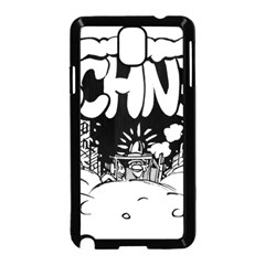 Snow Removal Winter Word Samsung Galaxy Note 3 Neo Hardshell Case (black)