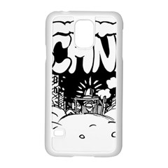 Snow Removal Winter Word Samsung Galaxy S5 Case (white)