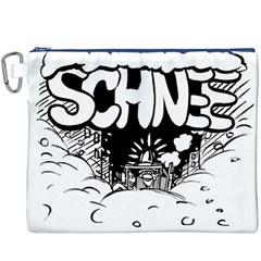 Snow Removal Winter Word Canvas Cosmetic Bag (xxxl)
