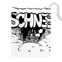 Snow Removal Winter Word Drawstring Pouches (xxl)
