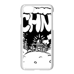 Snow Removal Winter Word Apple Iphone 7 Seamless Case (white)