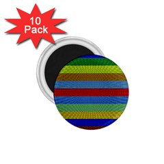 Pattern Background 1 75  Magnets (10 Pack)