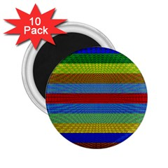 Pattern Background 2 25  Magnets (10 Pack)