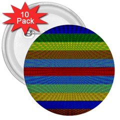 Pattern Background 3  Buttons (10 Pack)