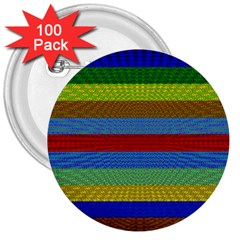Pattern Background 3  Buttons (100 Pack)