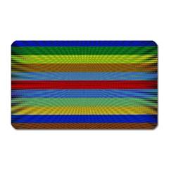 Pattern Background Magnet (Rectangular)