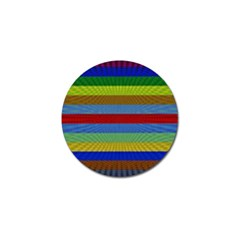 Pattern Background Golf Ball Marker (4 Pack)