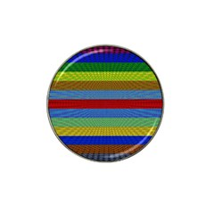 Pattern Background Hat Clip Ball Marker (10 Pack)