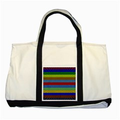 Pattern Background Two Tone Tote Bag