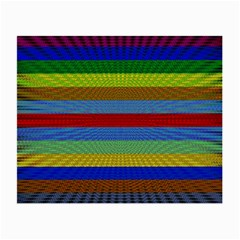 Pattern Background Small Glasses Cloth (2-Side)