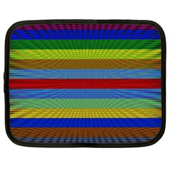 Pattern Background Netbook Case (large)