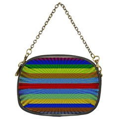 Pattern Background Chain Purses (two Sides)