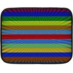Pattern Background Double Sided Fleece Blanket (mini)