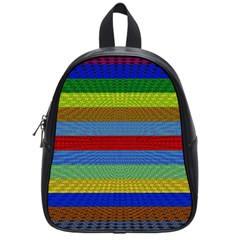 Pattern Background School Bags (small)
