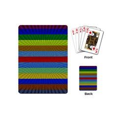 Pattern Background Playing Cards (mini)