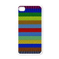 Pattern Background Apple Iphone 4 Case (white)